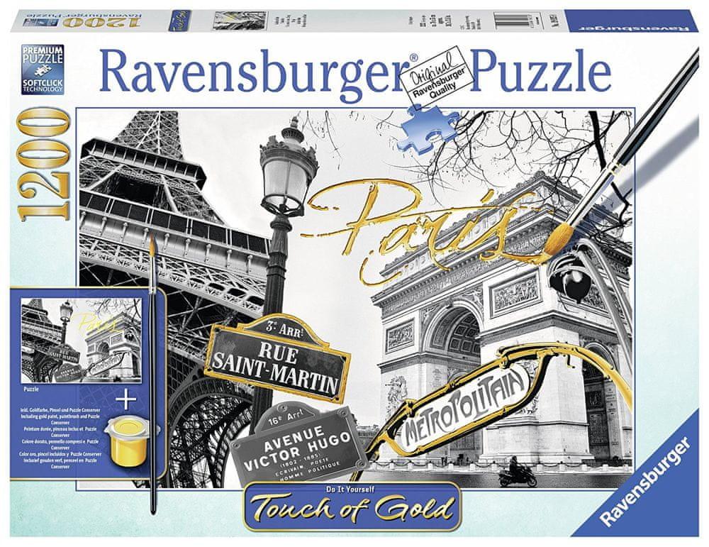 Ravensburger Zlatá Paříž 1200 dílků
