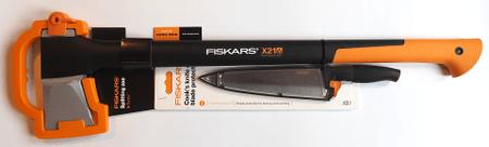 FISKARS 122473 X21 Hasítófejsze + 1014197 Functional Form Szakácskés