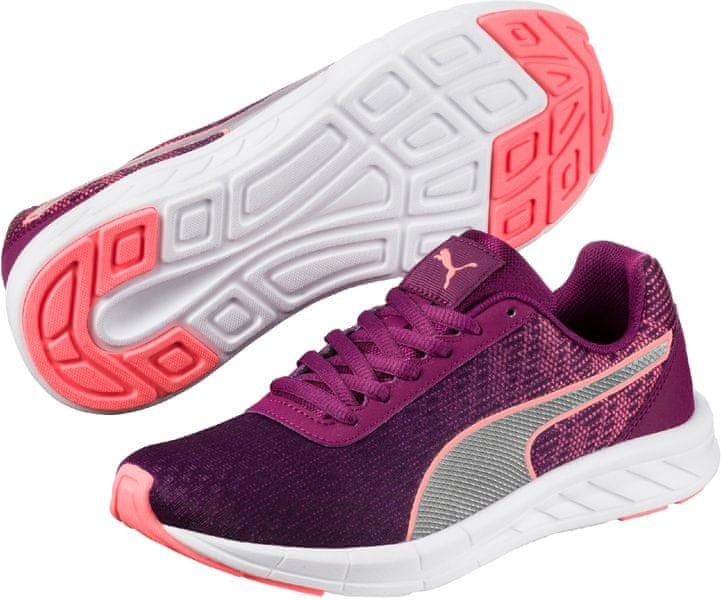Puma Comet Jr Nrgy Peach Dark Purple 36