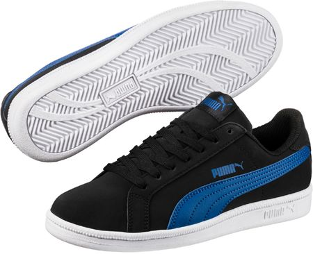 Puma čevlji Smash FUN Buck Jr Black Lapis, črno/modri, 35,5