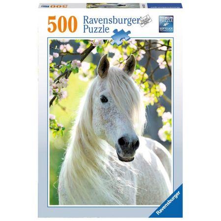 Ravensburger sestavljanka bel konj