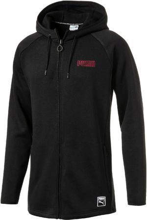 Puma Record Fleece FZ Hoody Black, S