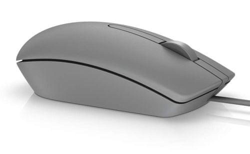 DELL MS116 przewodowa mysz optyczna, szara (570-AAIT)