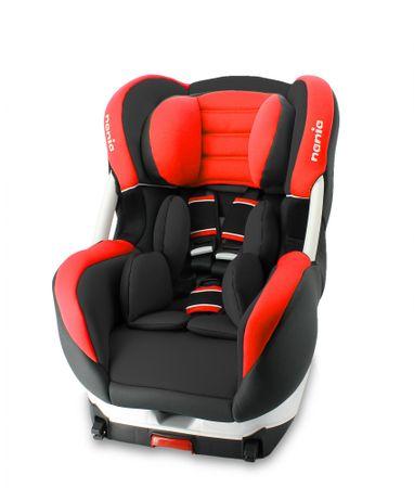 Nania avtosedež Eris (Cosmo) Iso Premium, rdeč
