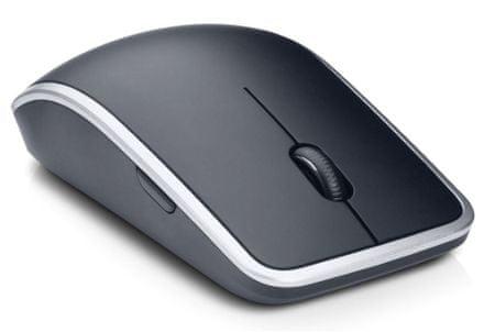 DELL šestitlačítková laserová myš, bezdrátová, černostříbrná (570-11537)