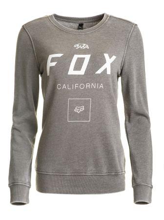 FOX női pulóver S szürke