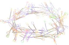 Retlux nano ježek řetěz 100 LED multicolor