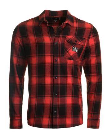 FOX férfi ing Voyd flannel XXL piros