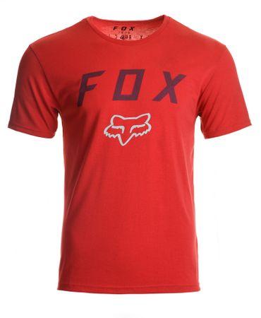 FOX muška majica Contended ss tech XXL crvena