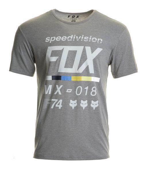 FOX pánské tričko Draftr ss tech L šedá