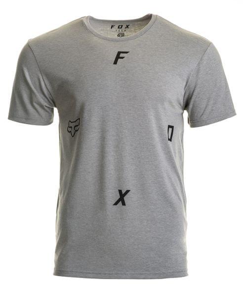 FOX pánské tričko Rawcus ss tech XL šedá