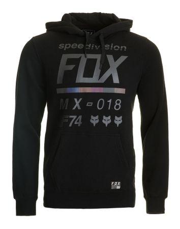 FOX pánská mikina DISTRICT 2 PULLOVER M černá