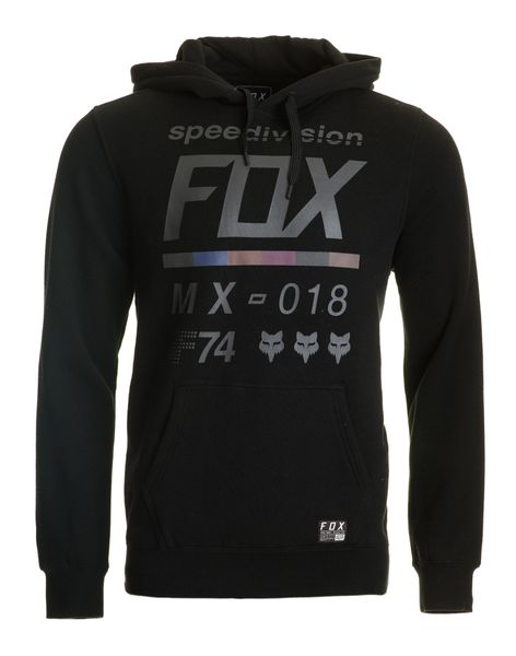 FOX pánská mikina DISTRICT 2 PULLOVER XL černá