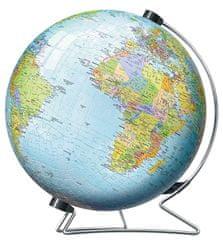 Ravensburger 3D globus (angleški), 540 delov