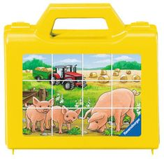 Ravensburger sestavljanka Živali na kmetiji, 12 kos