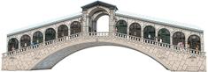 Ravensburger sestavljanka Benetke - Rialto most, 216 delna
