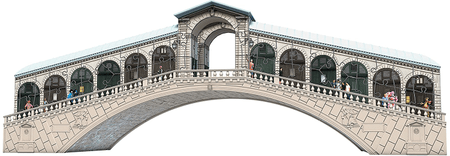 Ravensburger slagalica Venecija - Rialto most 216 dijelna