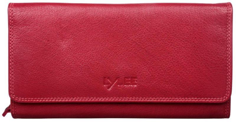 LYLEE dámská červená peněženka Ellie