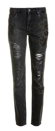 Pepe Jeans ženske kavbojke Heidi Rose 27/32 črna