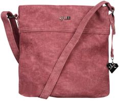 LYLEE torebka damska April, crossbody, bordowa