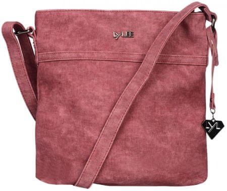 LYLEE ženska ročna torbica bordo rdeča April