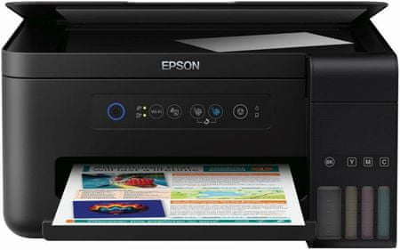 Epson večfunkcijska brizgalna naprava EcoTank ITS L4150