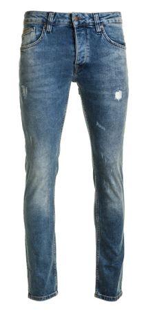 Pepe Jeans jeansy męskie Zinc Dusted 32/34 niebieski