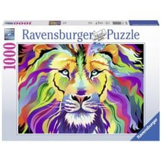 Ravensburger sestavljanka Lev Technicolor