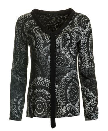 Desigual ženska bluza Lazo Noa XS črna