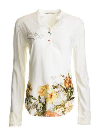 Desigual ženska bluza Brigitte L bela