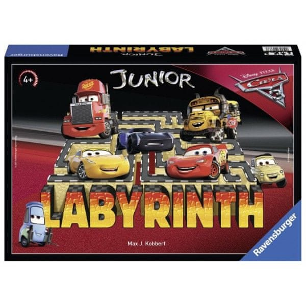 Ravensburger Disney Auta 3 - Labyrinth Junior