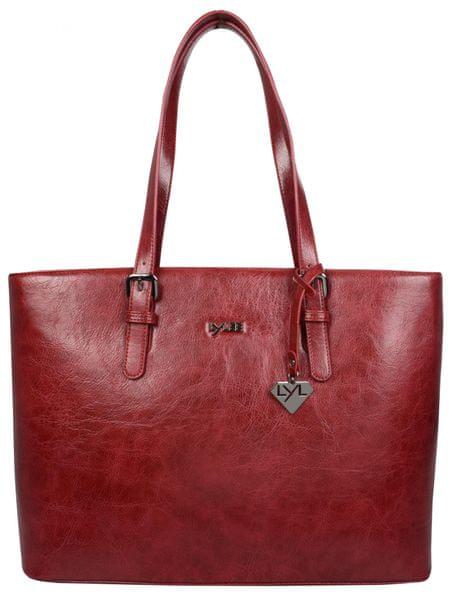 LYLEE červená kabelka Amelia
