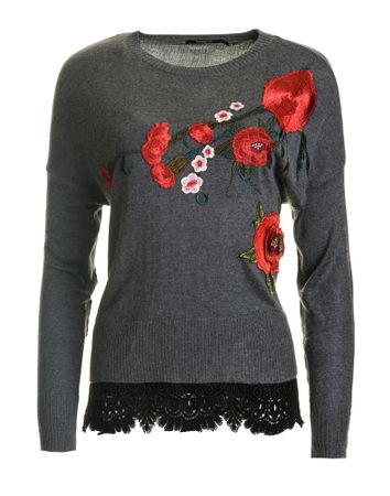Desigual sweter damski Rosalia S szary