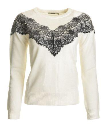 Desigual ženski pulover Saruka XS smetane