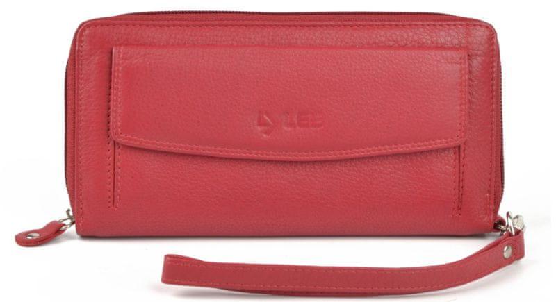 LYLEE dámská červená peněženka Bobbie