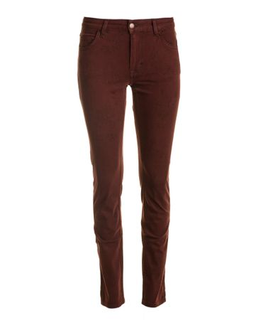 Mustang dámské jeansy Sissy Slim S&P 28/32 vínová