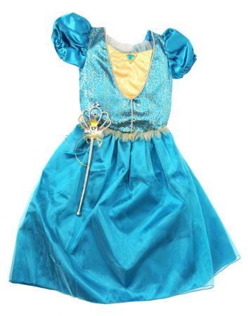 Mac Toys Šaty pre princeznú - modré