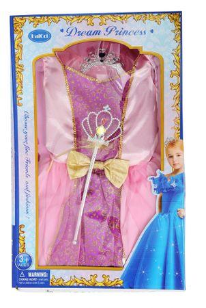 Mac Toys Šaty pre princeznú - ružové  2ecc75c370d