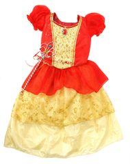 Mac Toys kostium księżniczki suknia czerwono-żółta