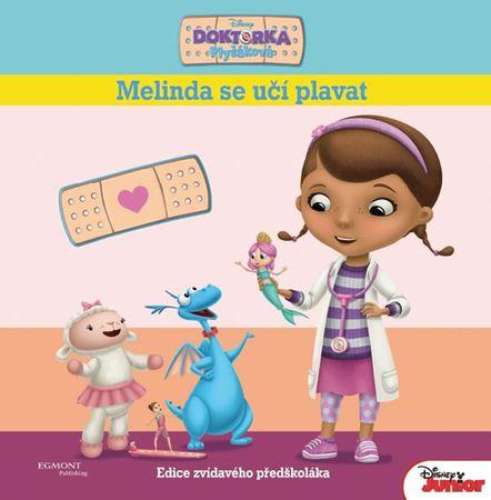 Disney Walt: Doktorka Plyšáková - Melinda se učí plavat (Edice zvídavého předškoláka)