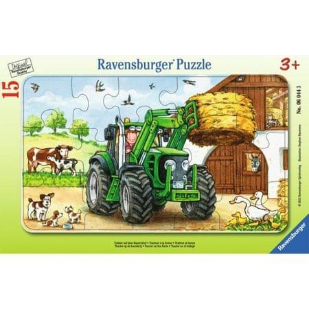 Ravensburger sestavljanka Traktor