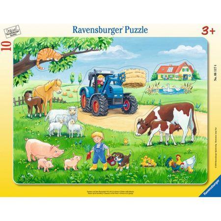 Ravensburger sestavljanka Poletje na podeželju