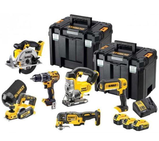 DeWalt set akumulatorskega orodja DCK665P3T, 6-delni
