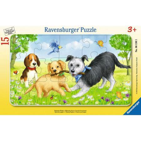 Ravensburger sestavljanka Kužki se igrajo