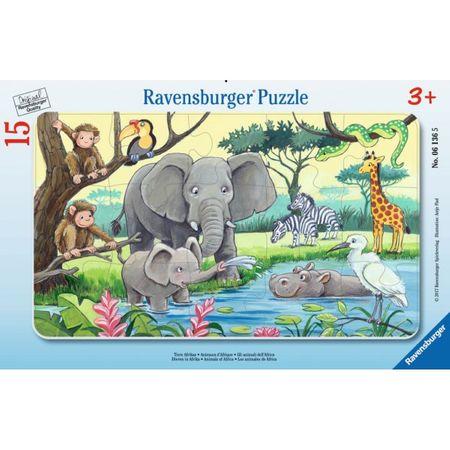 Ravensburger sestavljanka Živali v Afriki