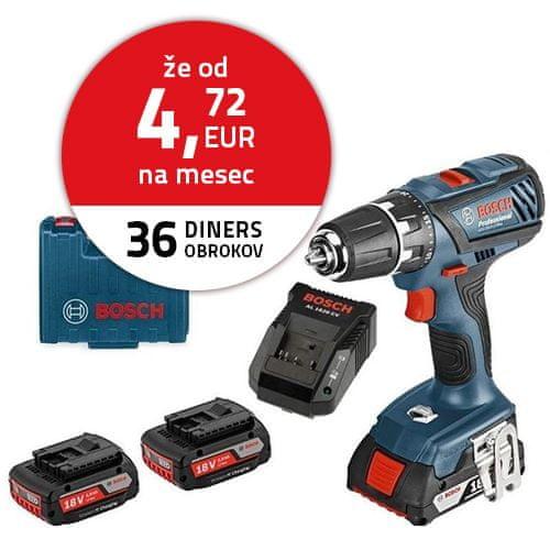BOSCH Professional GSR 18-2-LI Plus (06019E6120)