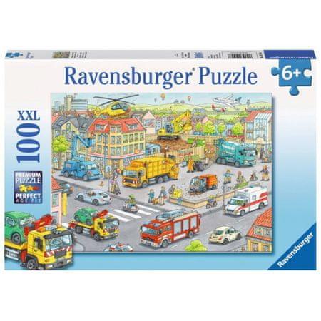 Ravensburger sestavljanka Vozila v mestu, 100d