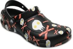Crocs Bistro Peppers Clog Black/White