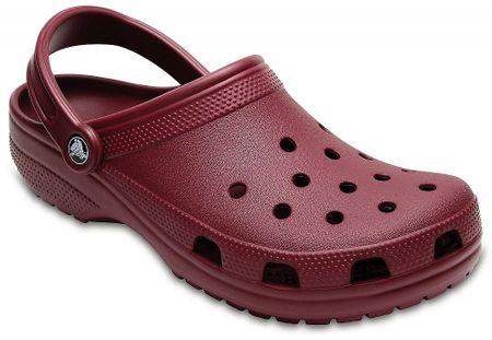 Crocs natikači Classic Garnet, 36,5