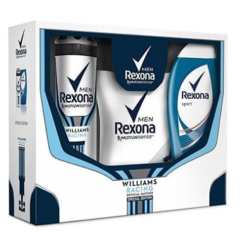 Rexona Dárková sada pro muže Williams Racing + sportovní taška